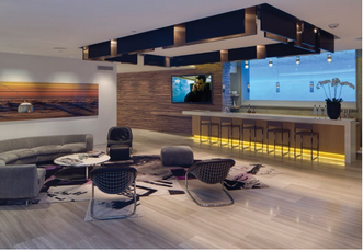 Lounge in luxury.