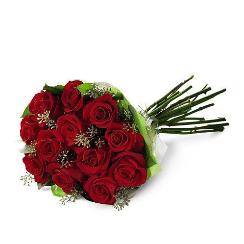 Long Stem Red Rose Cut Bouquet
