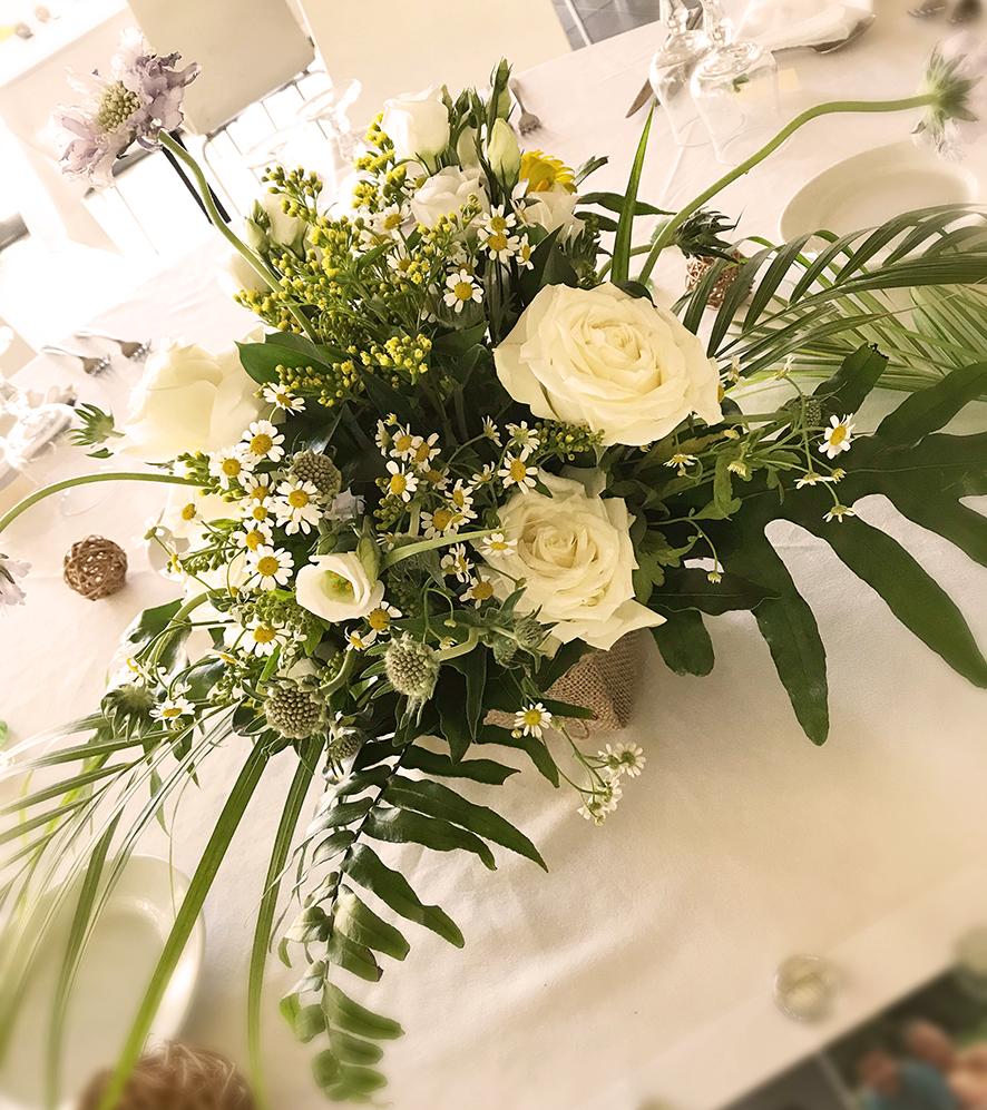 Composition florale nature