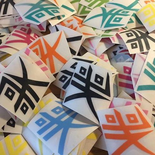 "Kabuki Logo - 4"" Vinyl Decal"