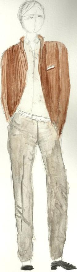 Joe Costume Rendering