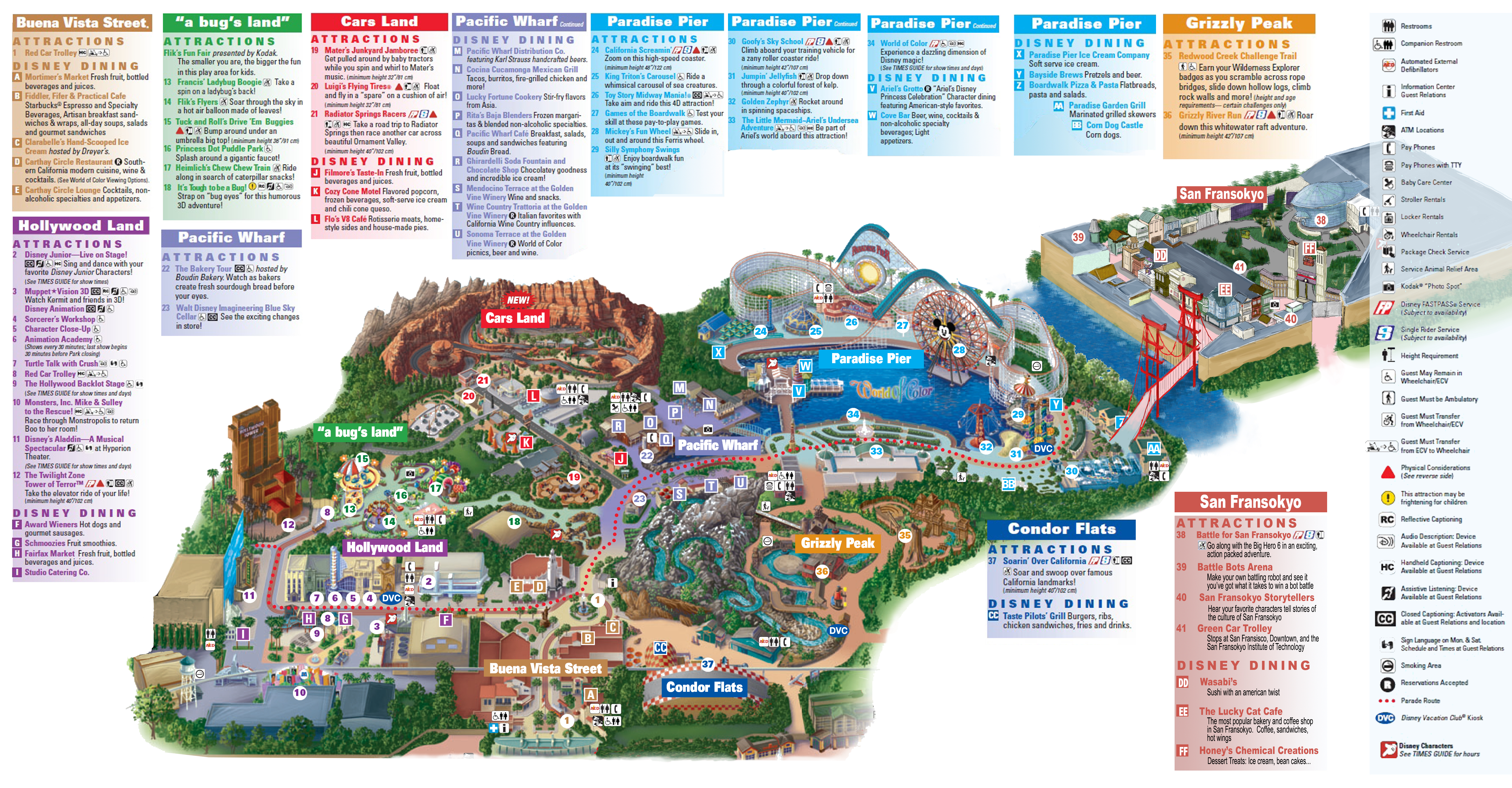 Updated Park Map
