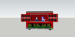 Music Plaza DJ stand
