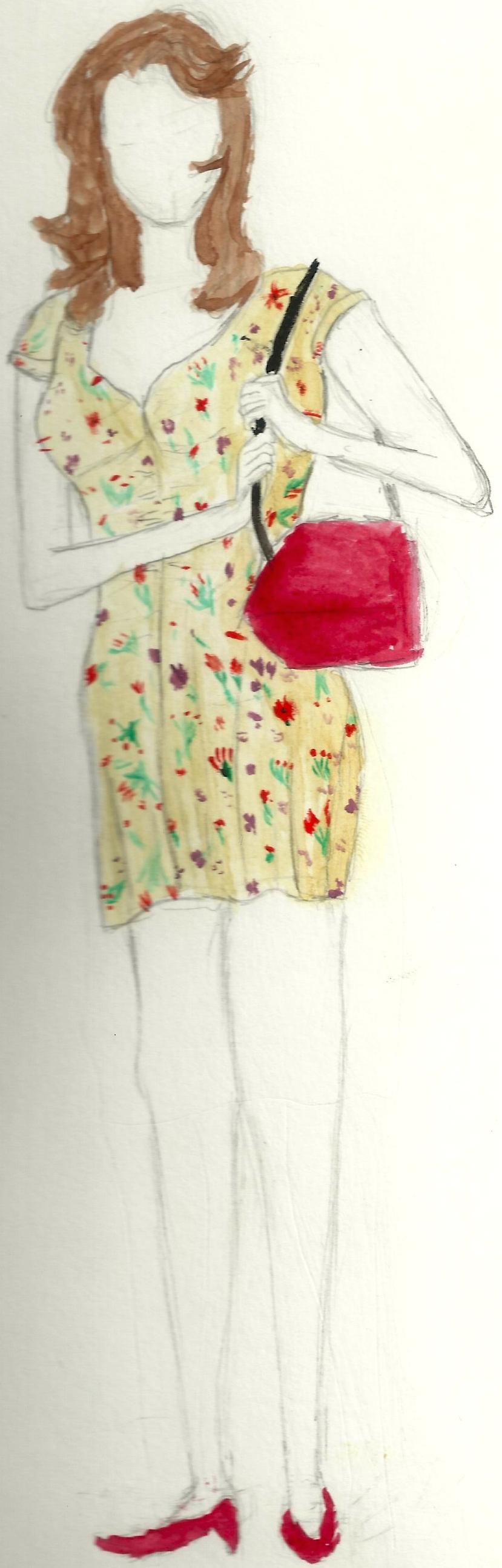 Darlene Costume Rendering
