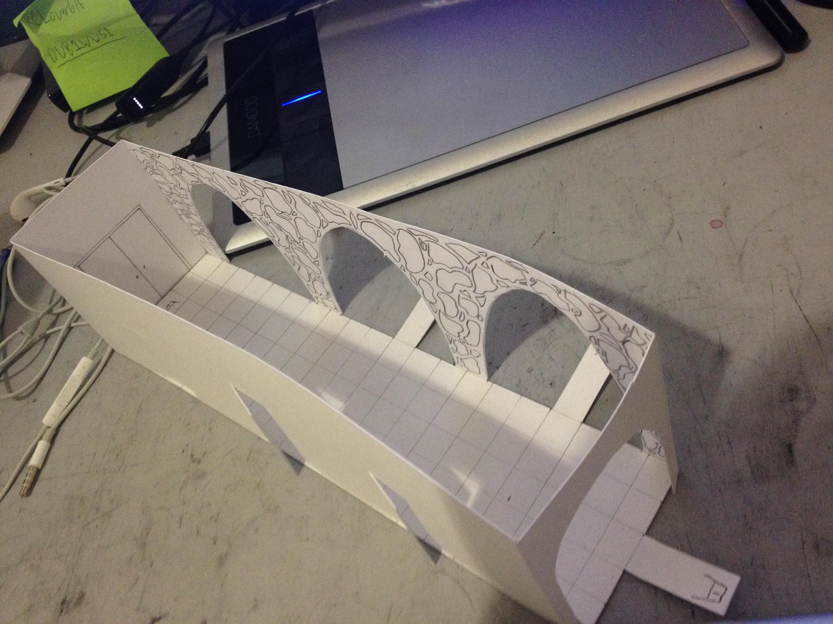Hallway 1/4th Scale Model