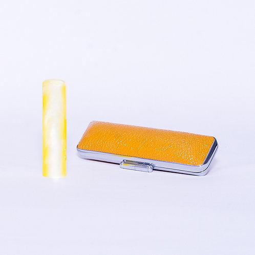 Yellow Acrylic Hanko