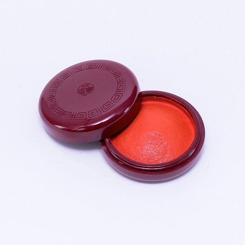 Red ink pad / 21mm round type