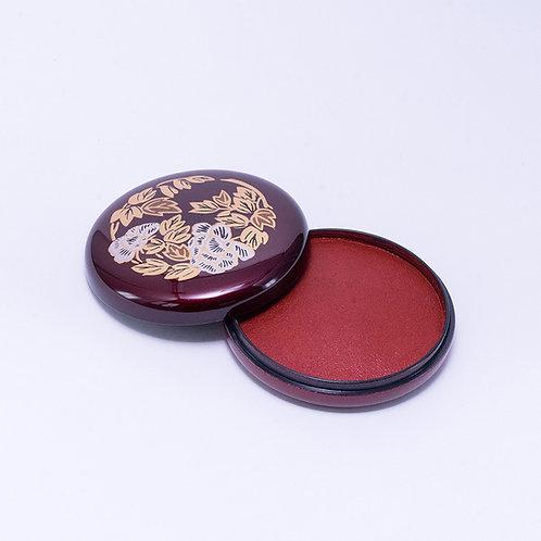 Nikko Red Inkpad / 70mm round type
