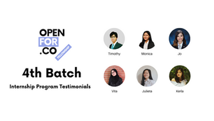 Internship Program Testimonials - 4th Batch