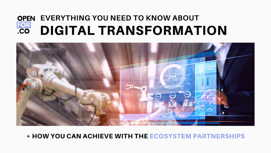 Everything you need to know about Digital Transformation (DX)