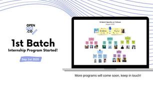 Internship Program Activities - 1st Batch