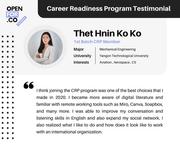 Career Readiness Program - Testimonial
