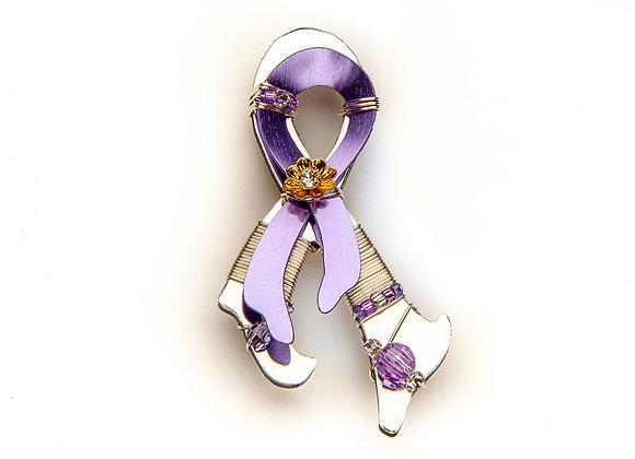 Alzheimer's Awareness Pin