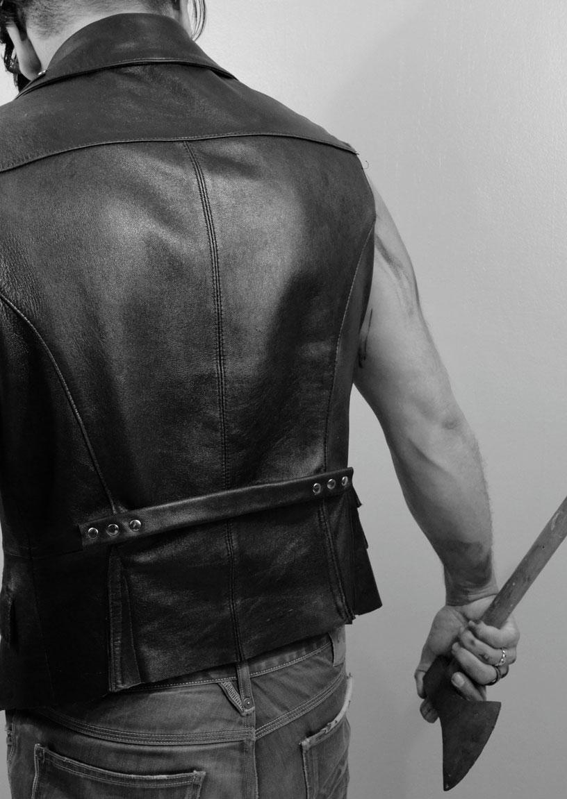 Charly's Evil Vest back