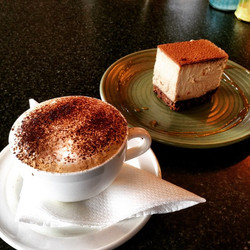Chai-cino & Raw Tiramisu