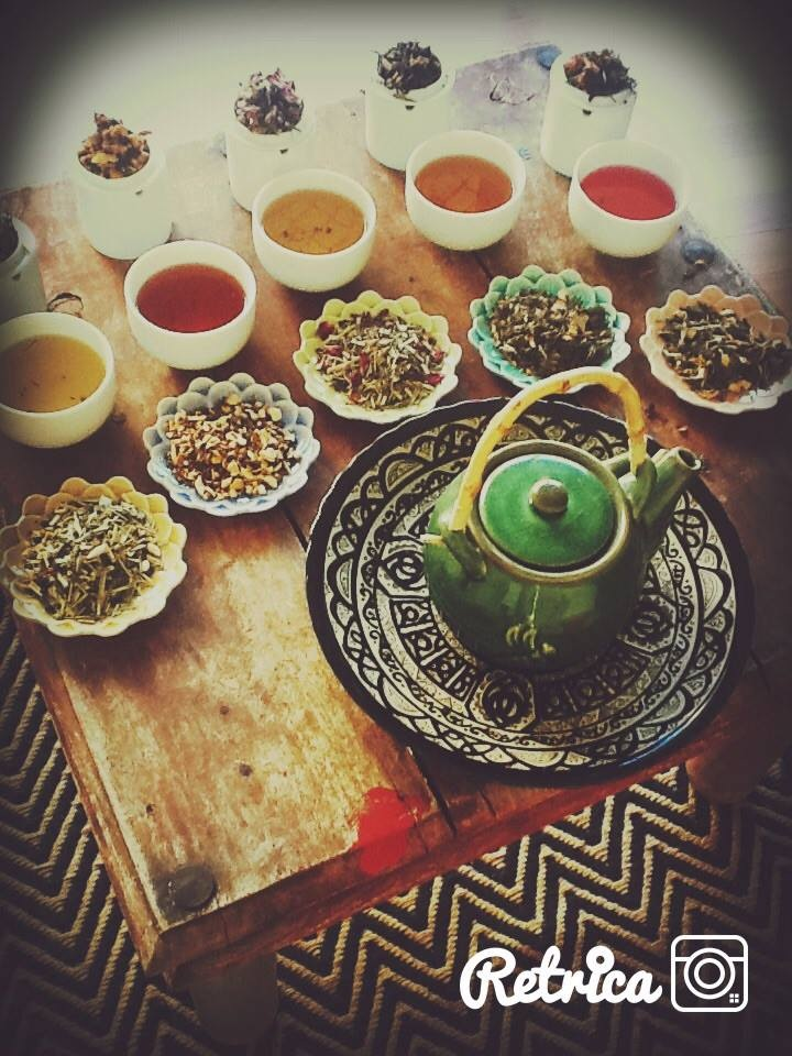 Herbal Tea Sampling