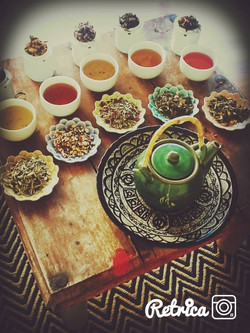 Herbal Tea Sampling