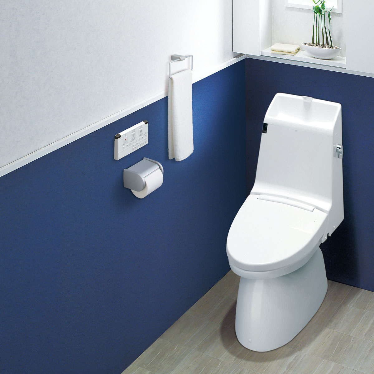 暖房便座シャワートイレ