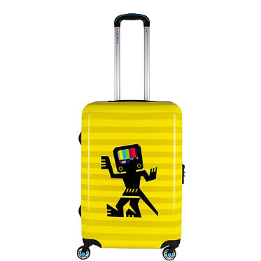 BG Berlin luggage - CAVE MAN YELLOW 24''