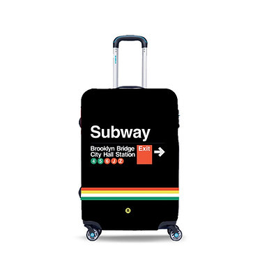 BG Berlin luggage - SUBWAY 24''