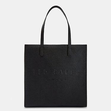Ted Baker - SOOCON Crosshatch large icon bag | Black