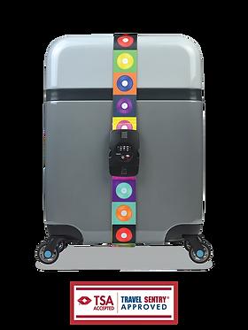 BG Berlin luggage belt - GLAM LPS with combination lock