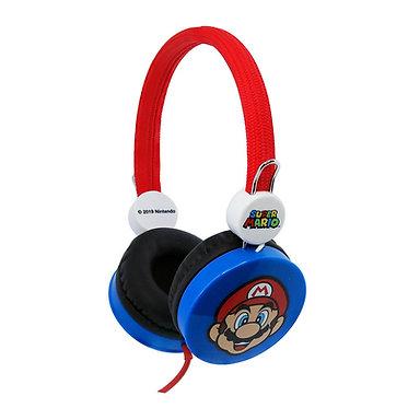 Super Mario Red/Blue Kids Core Headphones
