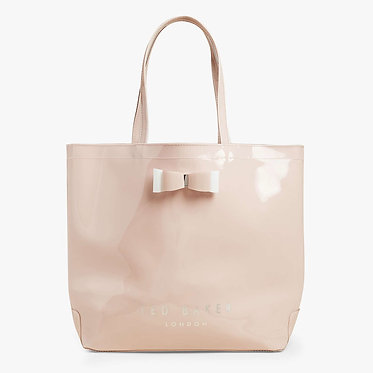 Ted Baker – HANACON Bow large icon bag | Pink