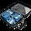 Thumbnail: Pegasus luggage - NEW BOX BLACK 24'