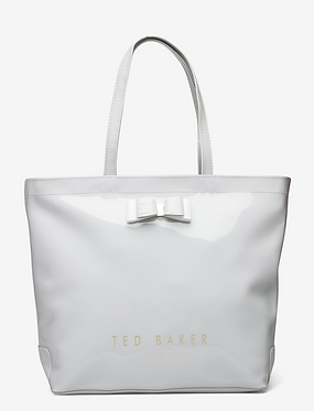 Ted Baker – HANACON Bow large icon bag   Grey