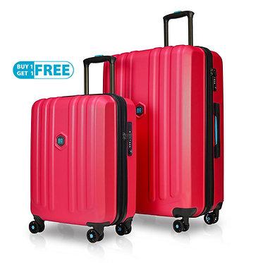 BG Berlin ENDURO Luggage 2 Piece RED Set