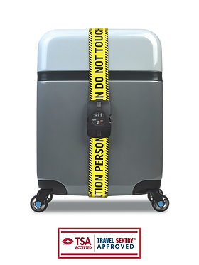 BG Berlin luggage belt - CAUTION with combination lock