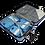 Thumbnail: Pegasus - NEW BOX LIGHT BLUE 24'