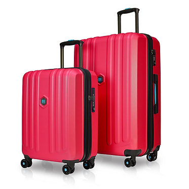 BG Berlin ENDURO Luggage 2 Piece RED Set