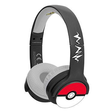 Pokémon Pokeball Kids wireless headphones