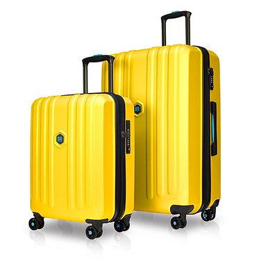 BG Berlin ENDURO Luggage 2 Piece MUSTARD Set