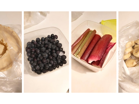 Ēdiena saldēšana: mana pieredze