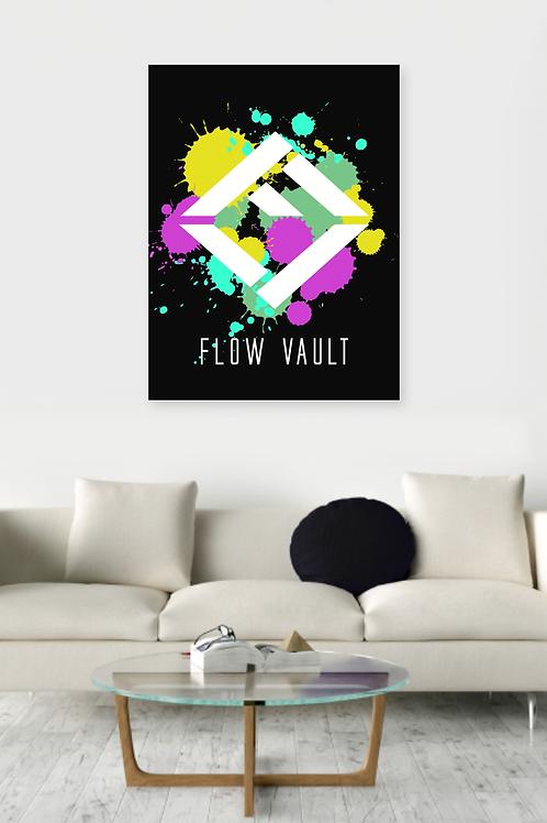 Flow Vault Poster
