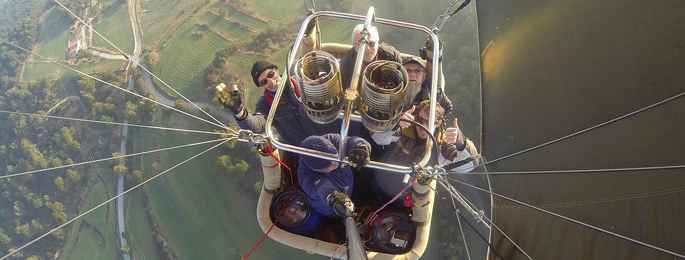 Ballonvaart - 6 deelnemers