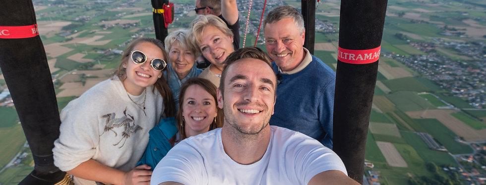 Ballonvaart - 12 deelnemers