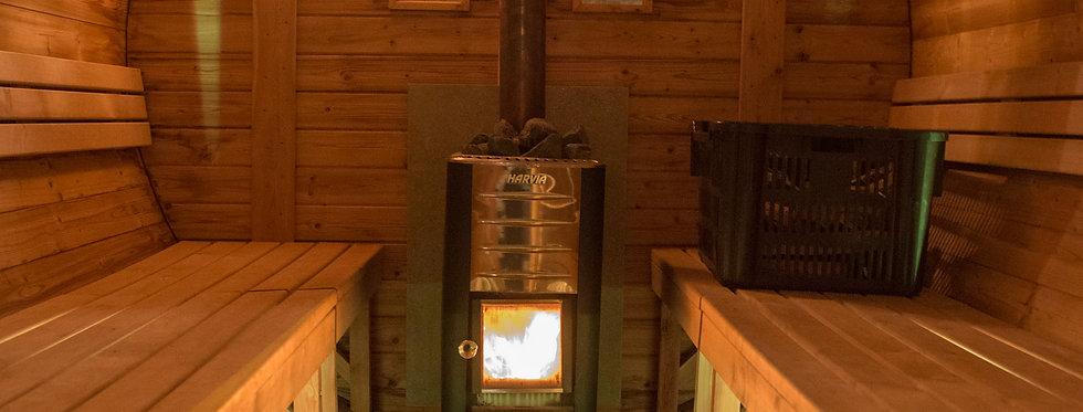 Sauna full service - 4 uur genieten