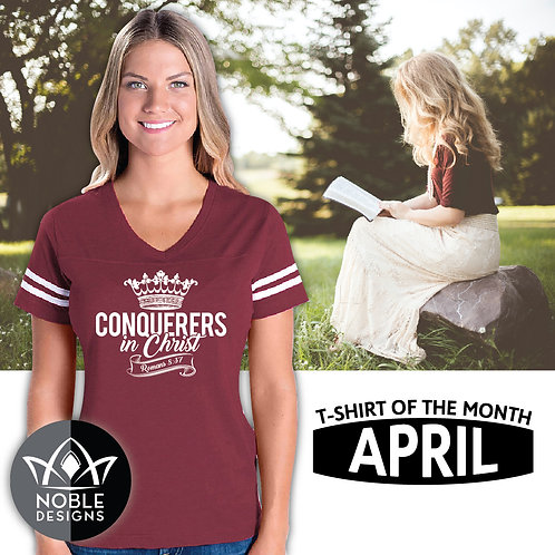 Conquerers In Christ (Tshirt)