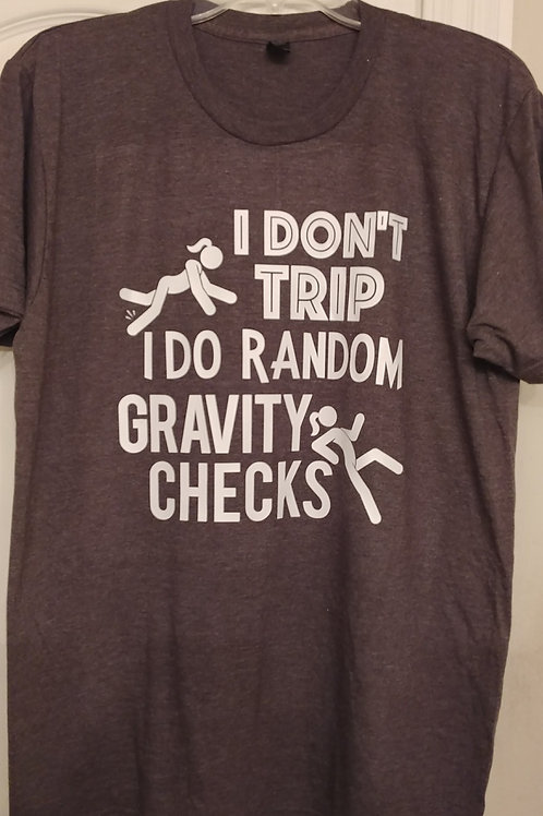 Random Gravity Checks (Tshirt)