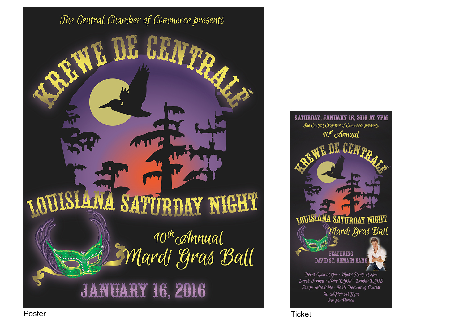 Event Posters & Tickets