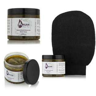 Moroccan Exfoliating Black Soap for Hammam