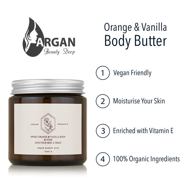 Vanilla & Sweet Orange Body Butter