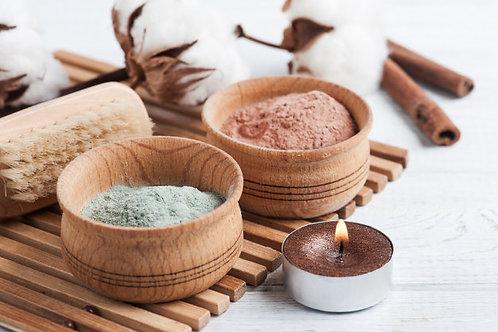 Healthy Detox Bath Salts with Bentonite Clay/Himalayan Sea Salt/ 250g