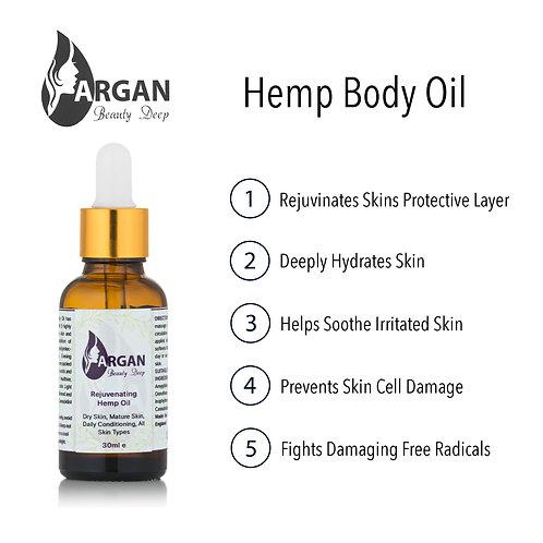 Aceite de CBD rejuvenecedor / Vegano / Orgánico / Piel suave y flexible / Usar después de la ducha / 30ml