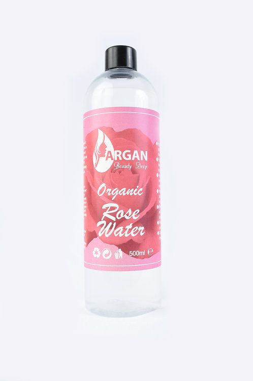 Pure Rose Water Face Toner/Hair Conditioner/Organic/Vegan/Responsibly Sourced