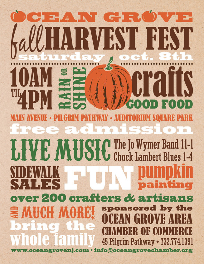 Ocean Grove Fall Harvest Festival